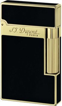 Ligne 2 Lighter Black Chinese Lacquer And Gold