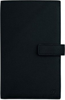 Liberté Pocket Diary Cover – Grained Black Leather